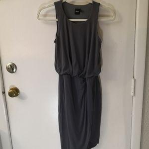 ASOS Gray High Low Tank Dress